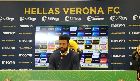 Verona-Ascoli 1-1: conferenza stampa Grosso post partita