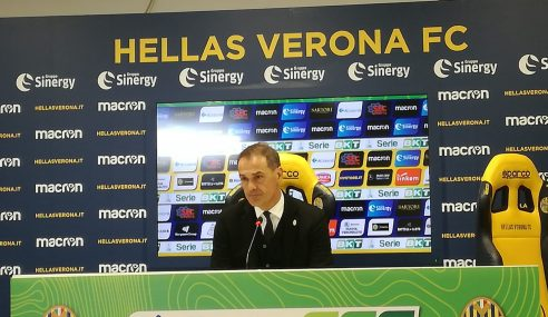 Verona-Ascoli 1-1: conferenza stampa Vivarini post partita